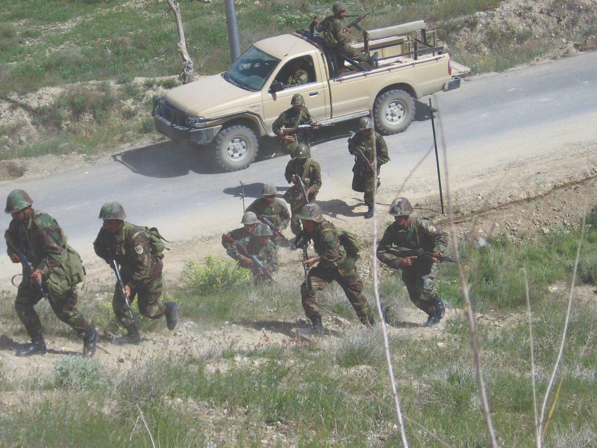 army in ghazni