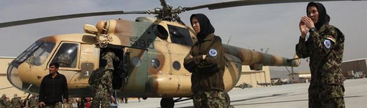 وزارت دفاع افغانستان در انتظار هوانیروهای تازهنفس؛ پیشتازی خلبان زن افغان نسبت به همقطاران مرد