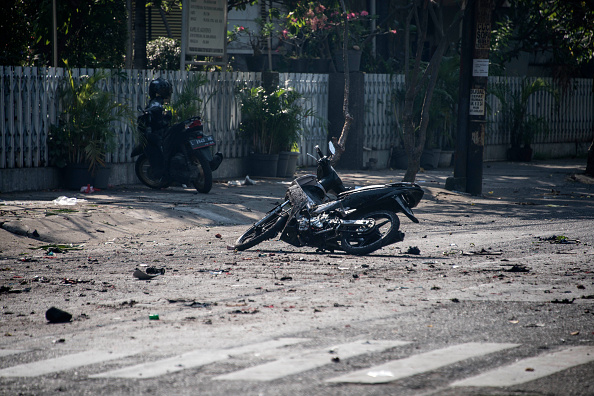 Blast in indonesia'