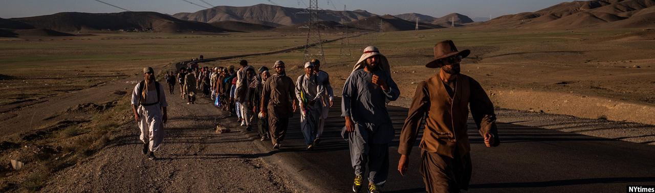 سفر ۴۰ روزه کاروان صلح خواهی؛ جوان ۲۷ ساله هلمندی و جرقه ای برای پایان جنگ افغانستان