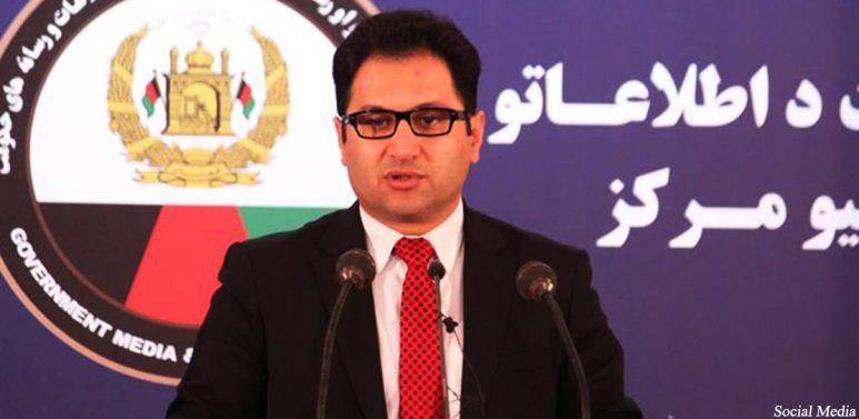 هارون چخانسوری، سخنگوی ریاست جمهوری افغانستان