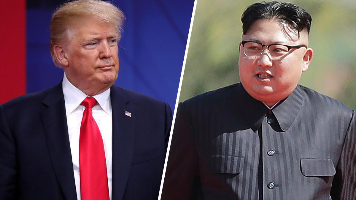 trump and kim jun oun
