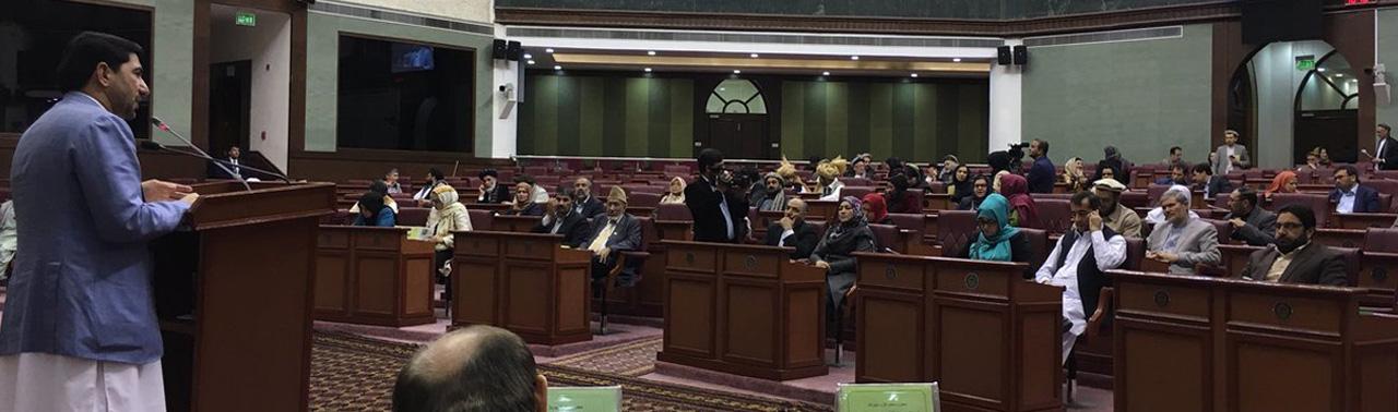 رییس دبیرخانه شورای عالی صلح در نشست علنی مجلس؛ سخن از آغاز مذاکرات رو در رو، بدون پاسخ مثبت طالبان!
