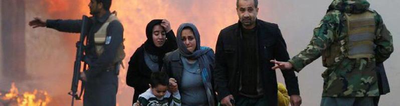 گزارش تازه یوناما از تلفات غیرنظامیان در جنگ افغانستان؛ افزایش ۲۲ درصدی تلفات حملات انتحاری و ۵۲ درصدی تلفات حملات هوایی