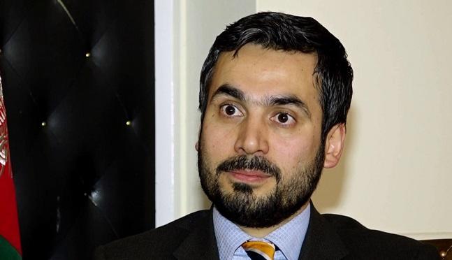 صبغتالله احمدی، سخنگوی وزارت خارجه افغانستان