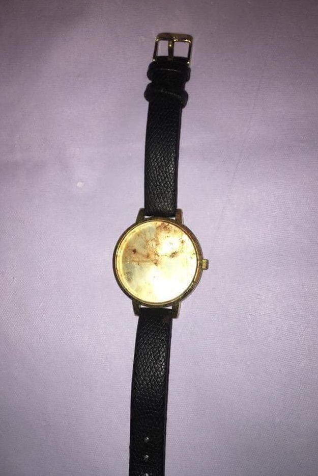 Rahila's watch