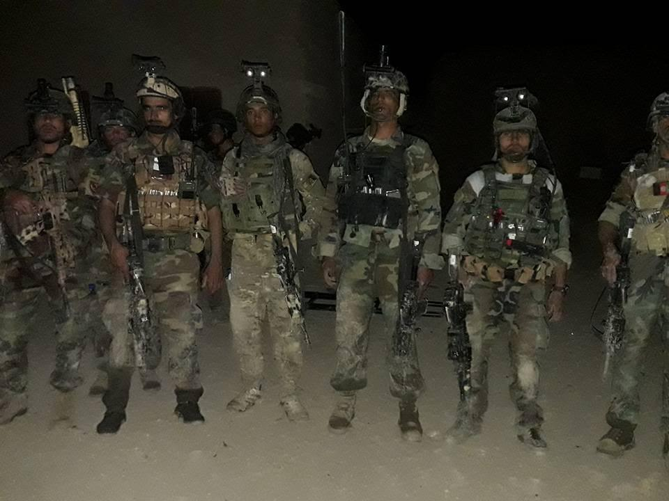 afghan forses