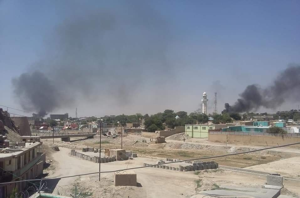 taliban attack on ghazni