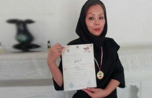 رویاهای بزرگ در عالم مهاجرت؛ عالیه یوسفی، درخشش دختر افغان و قهرمانی دفاع شخصی در ایران