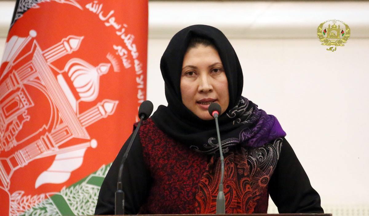رقیه نایل، وکیل مردم غور در مجلس نمایندگان افغانستان