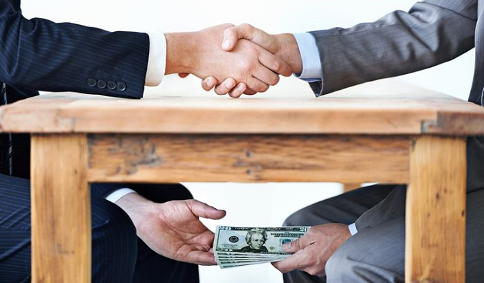 Bribery- in af