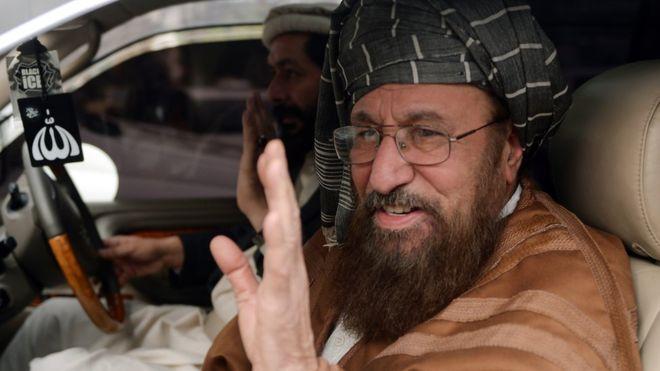 مولانا سمیع الحق، رهبر جمعیت علمای پاکستان که به پدر معنوی طالبان افغانستان مشهور بود