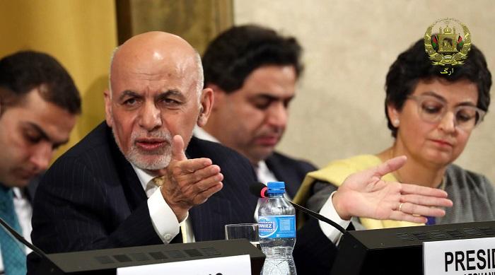 محمد اشرف غنی در نشست ژنو در مورد صلح افغانستان گفت که حکومت وحدت ملی برای رسیدن به صلح، تلاشهای نهایی خود را انجام میدهد