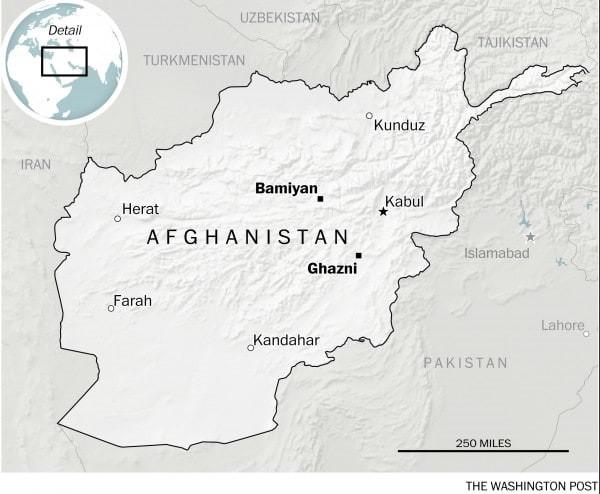 بامیان و غزنی، افغانستان (AARON STECKELBERG / WASHINGTON POST)