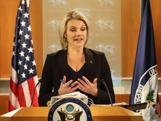 هیدر ناورت، سخنگوی وزارت خارجه ایالات متحده امریکا