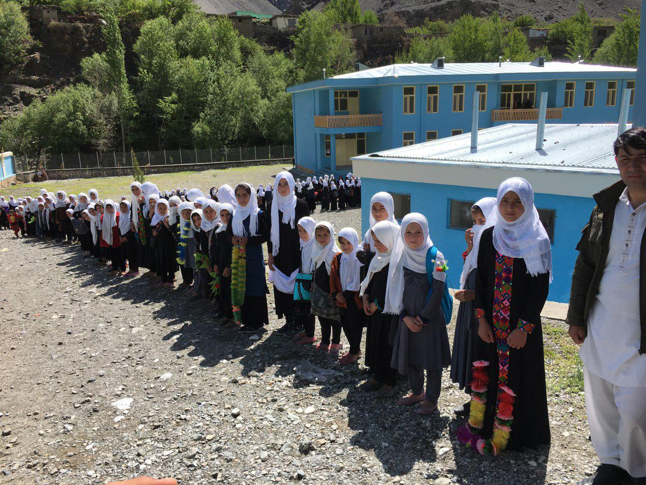 afghan girls student