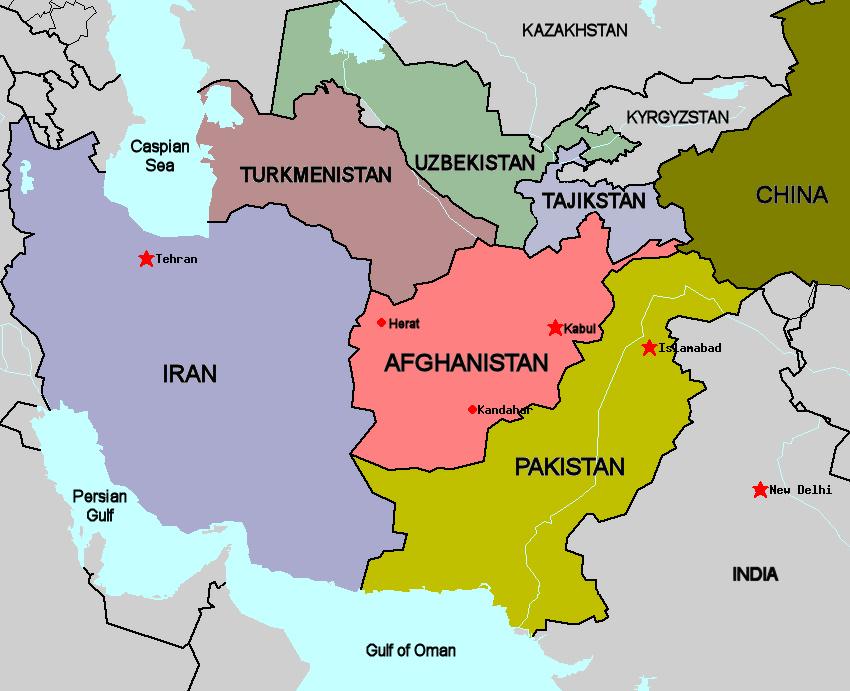 افغانستان به مثابه پل ارتباطی میان آسیاى مرکزی، شرق میانه و آسیاى جنوبی نقش اساسی را در جهت ادغام اقتصاد منطقوی دارا میباشد