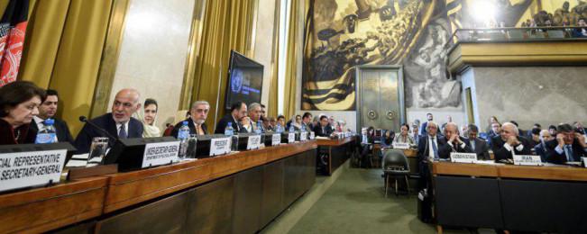 اعلامیه مشترک کنفرانس ژنو؛ تأمین آینده افغانستان: صلح، خودکفایی و اتصال