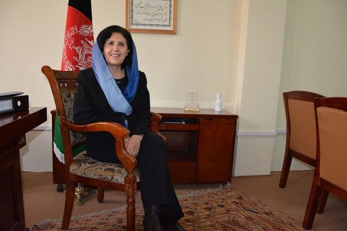 داکتر عالمه، معین امور پناهندگان وزارت امورمهاجرین و عودتکنندگان افغانستان