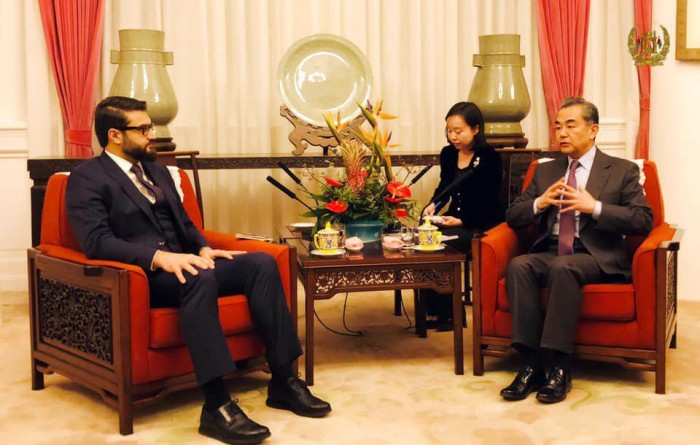 NSA mohib met china