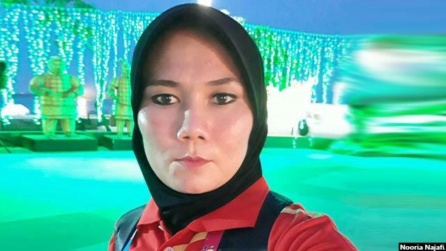 نوریه نجفی متولد سال 1375 هجری شمسی، از ولسوالی ناهور ولایت غزنی است که در کابل زندگی میکند