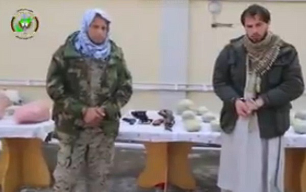 Two drug trafficking were arrested in Kabul