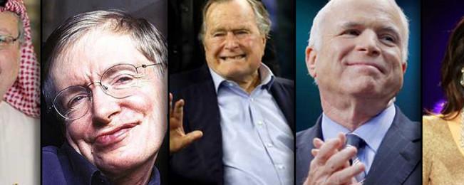 ۵ مرگ خبرساز از چهرههای معروف جهان در سال ۲۰۱۸