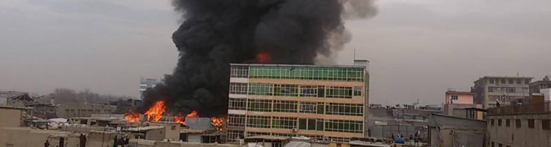 آتشسوزی بلای جان تاجران و مغازهداران افغانستان؛ نگاهی به ۵ آتشسوزی بزرگ در کابل
