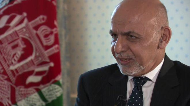محمد اشرف غنی در گفتوگوی اخیرش با بیبیسی نیز گفته که طالبان با مشارکتشان در روند انتخابات، صداقت خود را برای صلح نشان دهند