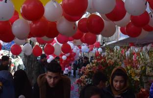 ولنتاین در کابل؛ شهری که با خون سرخ میشد، اینبار با گل رنگ می گیرد