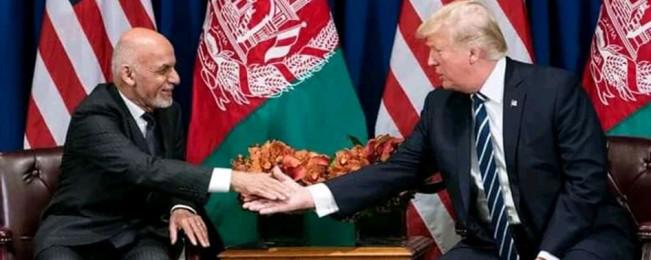 نامه غنی به ترامپ؛ کابل مایل به کاهش هزینه های سربازان آمریکایی در افغانستان است
