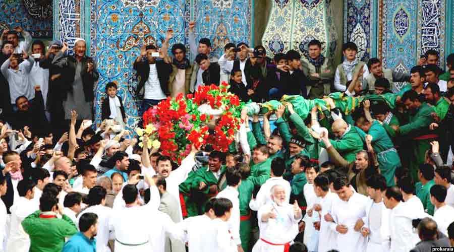 """جشن نوروز در مزارشریف با عنوان """"میله گل سرخ"""" برگزار میشود"""