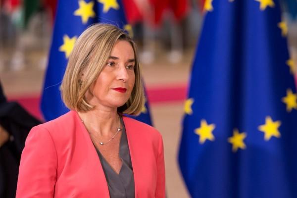 فدریکا موگرینی، مسوول سیاست خارجی اتحادیه اروپا
