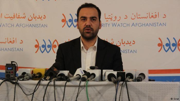 سید اکرم افضلی، رییس دیدبان شفافیت افغانستان