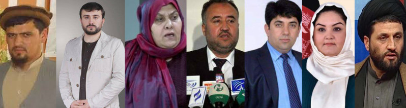 چهرههای منتخب مجلس نمایندگان افغانستان (۵)؛ مسیر زندگی ۷ نماینده از ولایات کنرها، سرپل، فاریاب، بدخشان و خوست