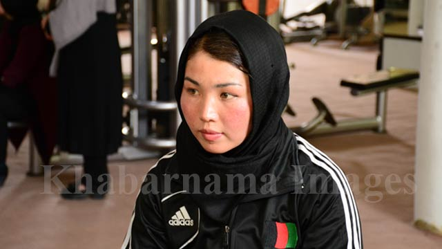 حفیظه بهمنی یکی از اعضای تیم ملی مس رسلینگ