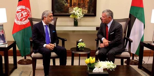 Jordan with Afghanistan