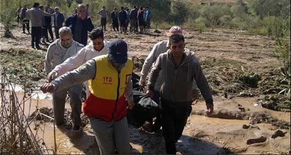 iran flood