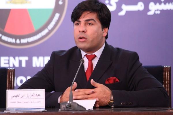 عبدالعزیز ابراهیمی، معاون سخنگوی کمیسیون مستقل انتخابات