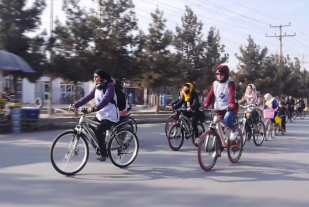 نهاد جوانان توانمند با همکاری فدراسیون ورزشی ولایت بلخ به تاریخ ۱۲ ثور سال جاری خورشیدی مسابقه دوچرخهسواری با عنوان «رکابزنی برای تغییر» را با حضور بیش از ۳۰ ورزشکار زن در شهر مزارشریف برگزار کردند