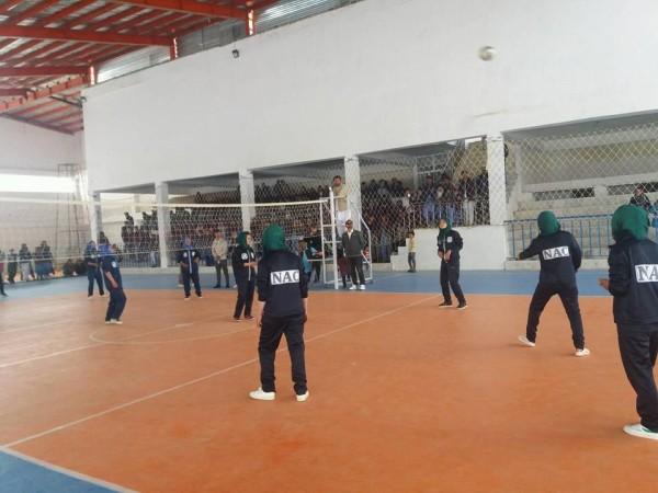 اولین تورنمنت والیبال بانوان در ولسوالی جاغوری ولایت غزنی برگزار شده است