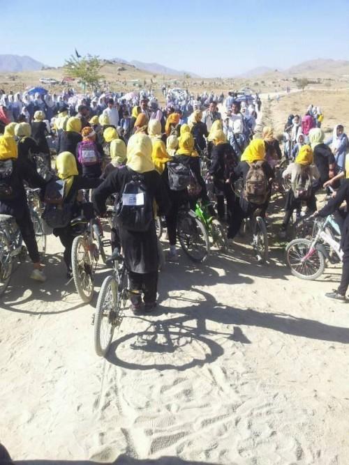 اولین برنامه ورزشی خانم ابراهیمی، برگزاری مسابقه دوچرخه سواری بود که در سال 1395 برگزار شد