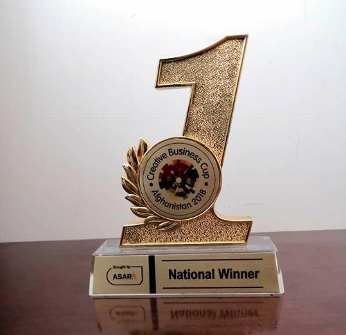 در این مسابقه که شماری زیادی از کشورها در چهار بخش اشتراک کرده بودند، افغانستان در رقابت با هشت کشور دیگر جهان، برنده این مقام شده است