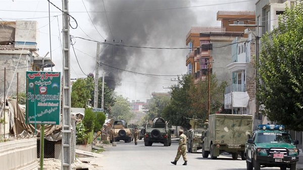 The explosion in Jalalabad