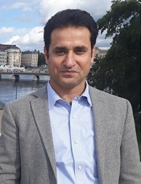 احمد خالد فهیم مسول برنامه های کمیته سویدن
