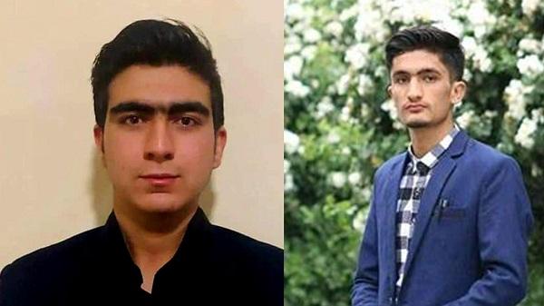 احمد راشد (چپ) سید سجاد (راست)