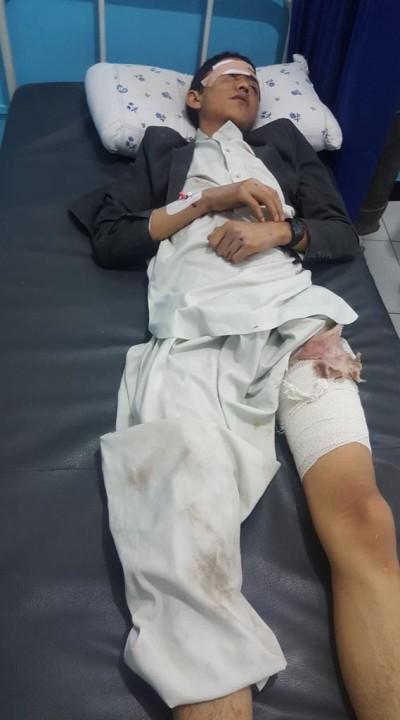 احمد رضایی در آن روز غمبار، 10 دقیقه زیر دیوار فرو ریخته باقی مانده تا به شفاخانه انتقال پیدا کرده است