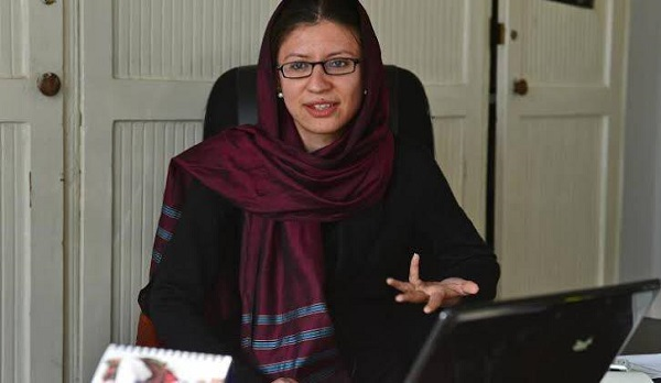 شهرزاد اکبر، رییس کمیسیون مستقل حقوق بشر