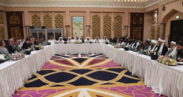 آغاز پنجمین دوره گفتگوهای صلح افغانستان در ماههای آغازین سال 2019 در 25 فبروری بین نمایندگان گروه طالبان و آمریکا در دوحه صورت گرفت