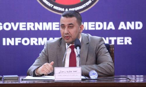 احمد جاوید رسولی، رئیس اداره ثبت احوال نفوس